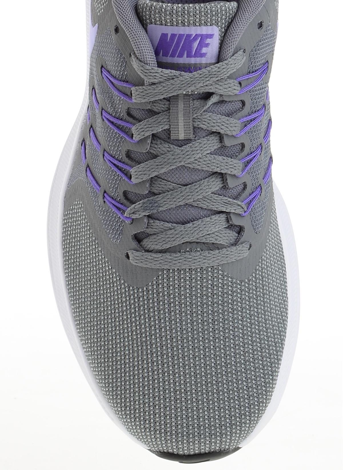 121362a2142 Nike Kadın Wmns Nike Run Swift Cool Grey Purple Agate-Wolf Gr ...